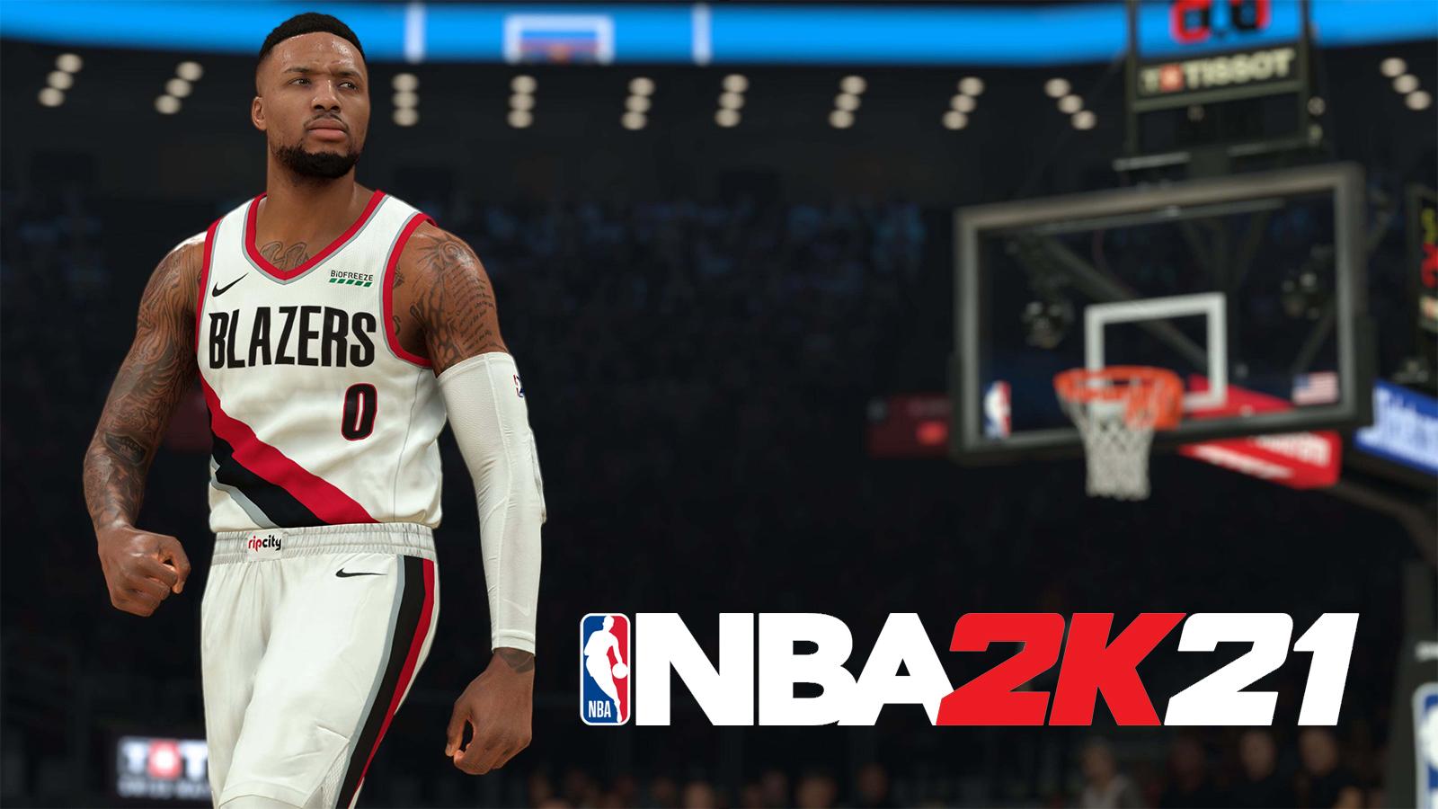 NBA 2k21 Header