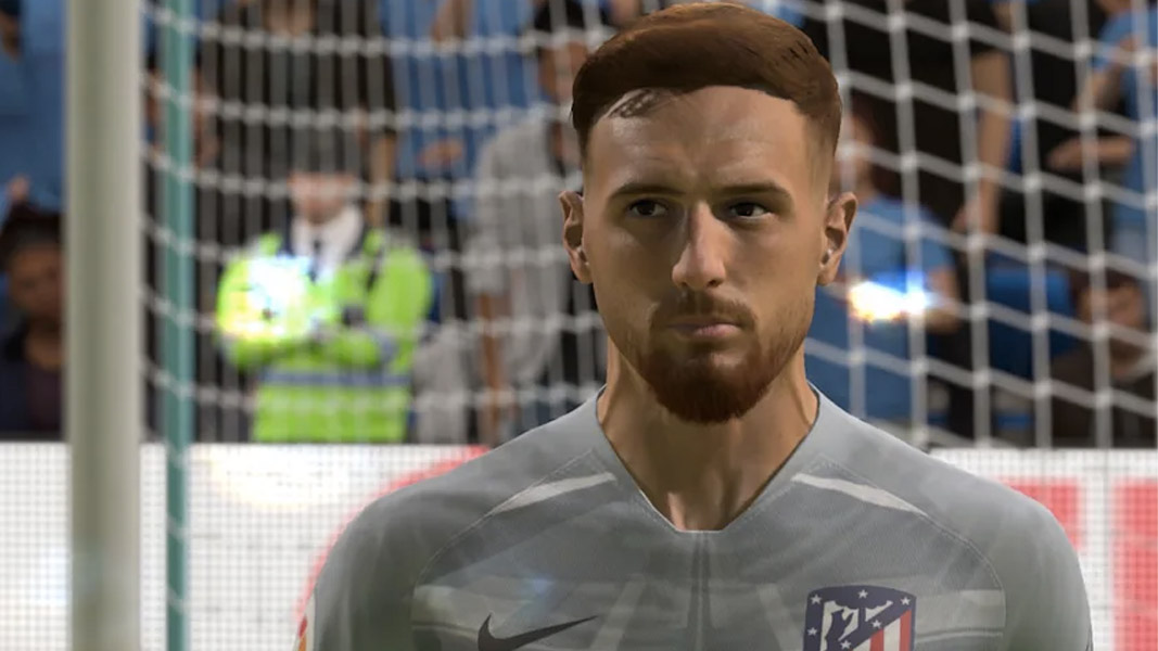 Jan Oblak face in FIFA 21