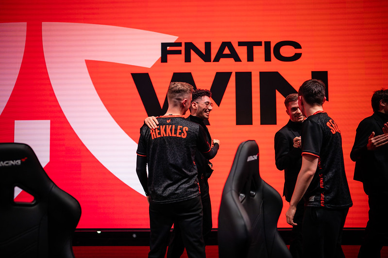 Fnatic competing in the LEC
