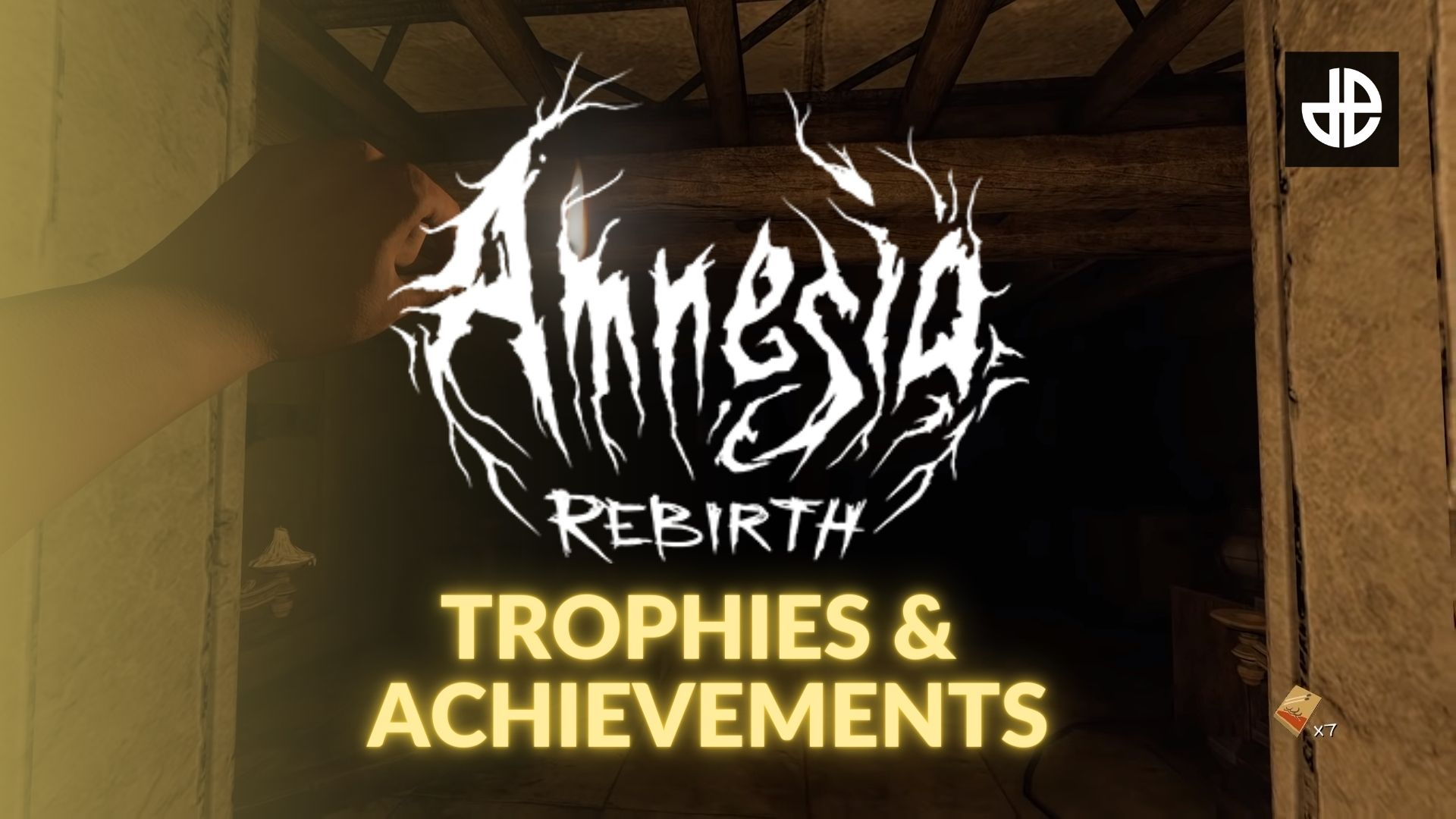 The Amnesia: Rebirth logo