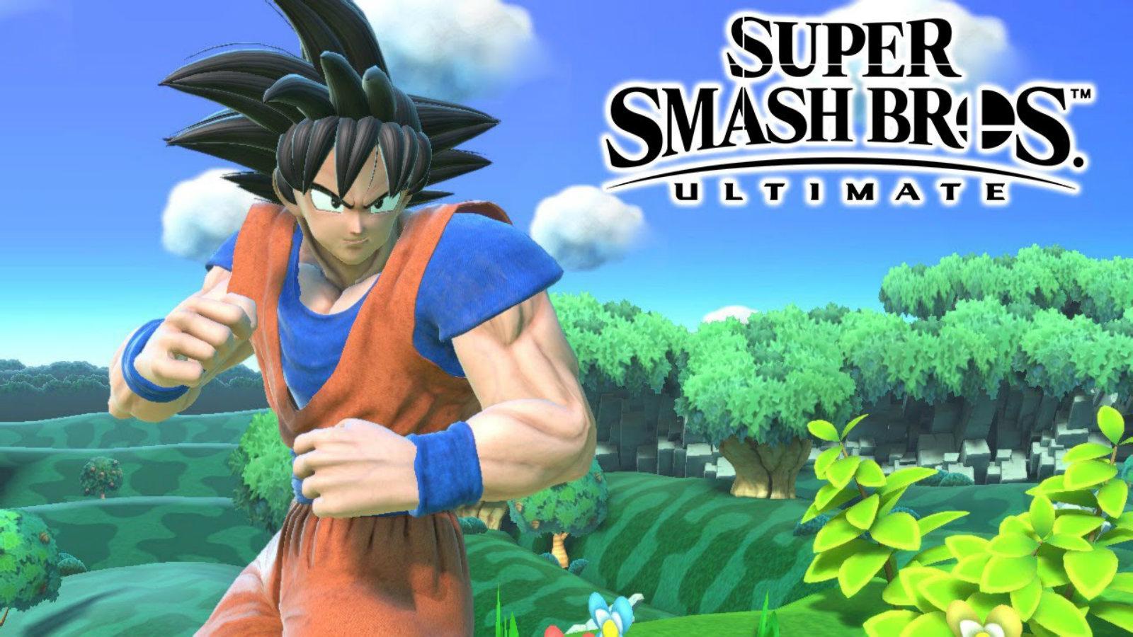 Goku comes to Smash Ultimate