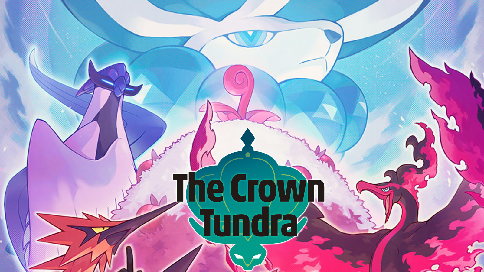 pokemon crown tundra legendary birds
