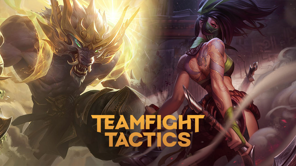 Warwick and Akali in TFT Fates