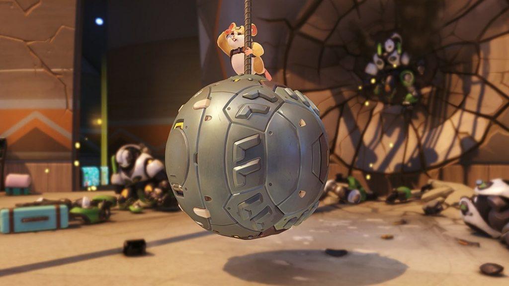 Wrecking Ball Overwatch gameplay