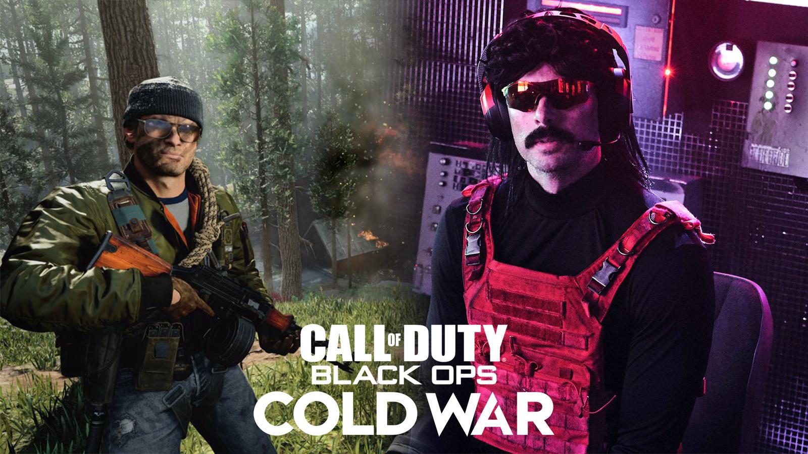 Dr Disrespect Black Ops Cold War