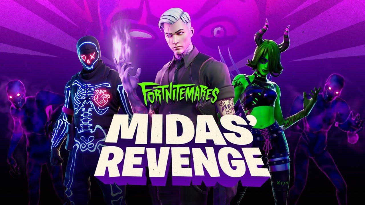 Fortnitemares 2020 Midas Revenge