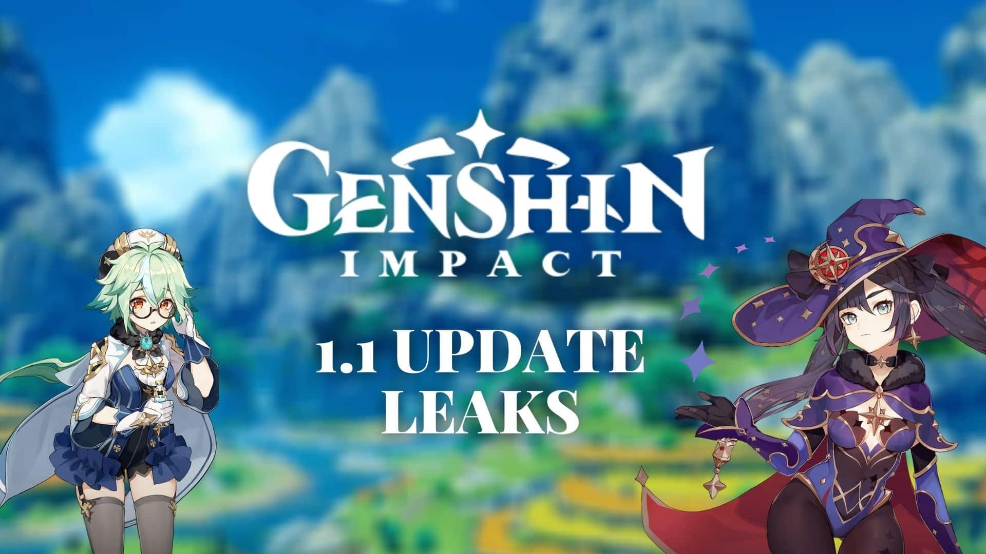 1.1 Update leaks screen