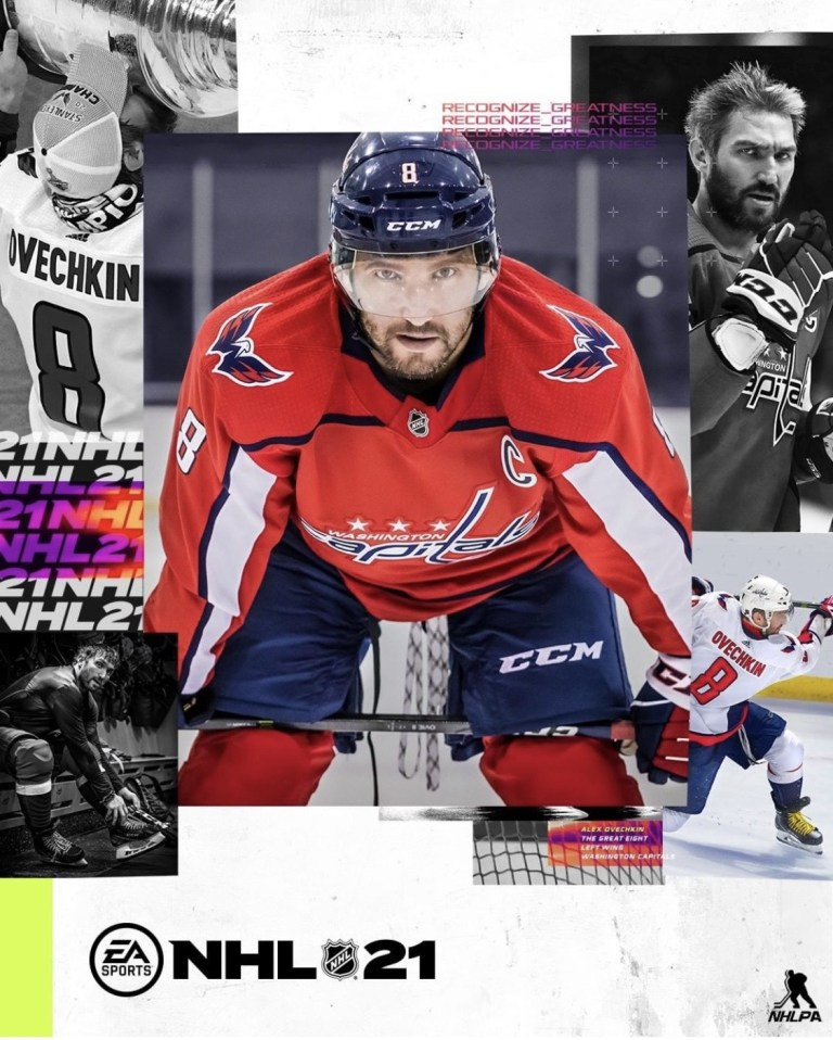 NHL 21 cover