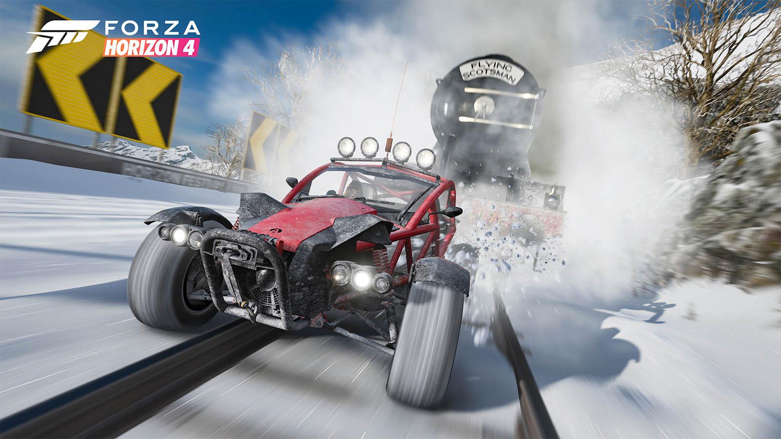 Forza Horizon 4 Train Glitch