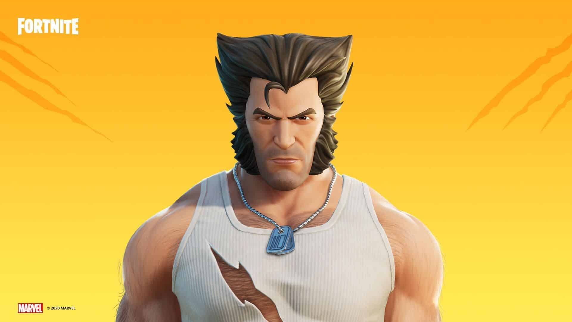 Logan in costume in Fortnite