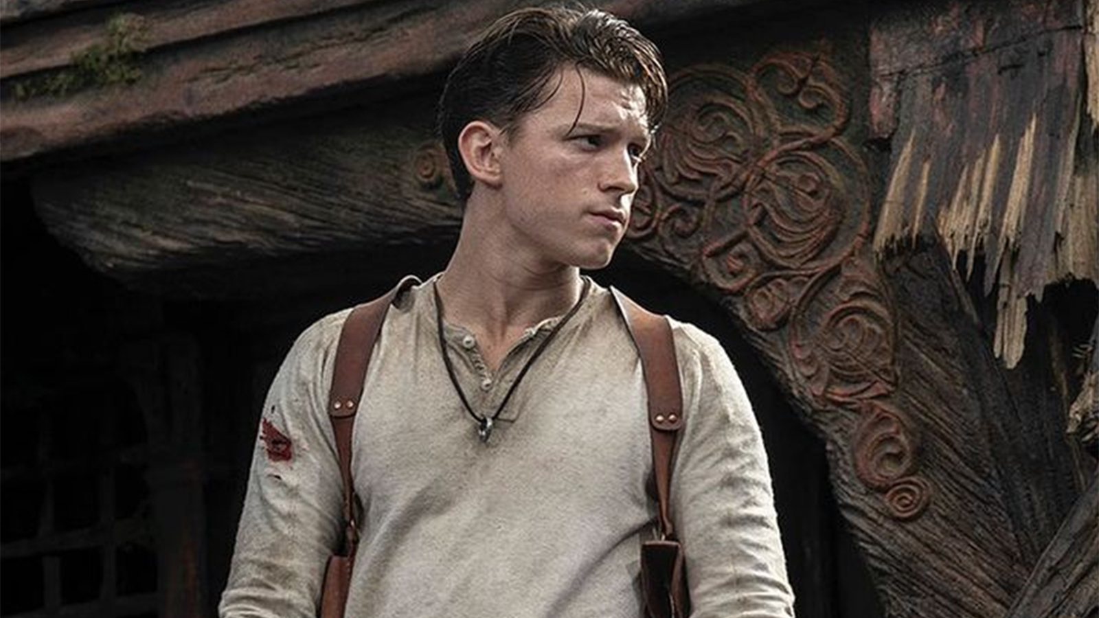 The first look of Tom Holland as Nathan Drake for the upcoming Uncharted movie.