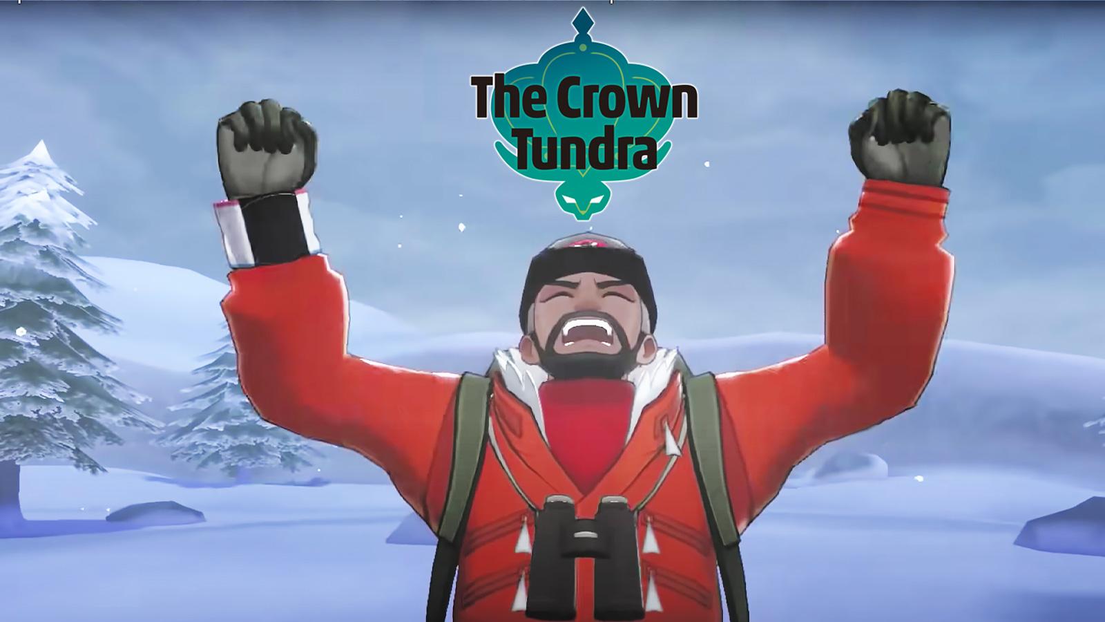 angry NPC in pokemon crown tundra