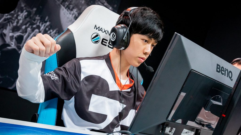 Mayker, pictured here playing for Genuine Gaming in Season 8, was one of seven CSGO players banned by the ESIC.