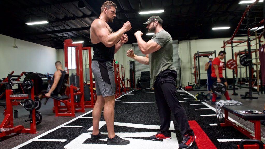 Bradley Martyn training in zoo culture gym