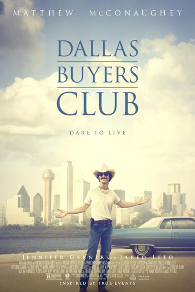 Poster image for the film Dallas Buyers Club