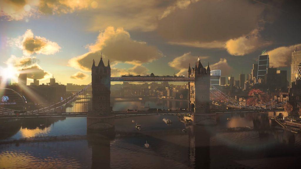 London Bridge in Watch Dogs Legion