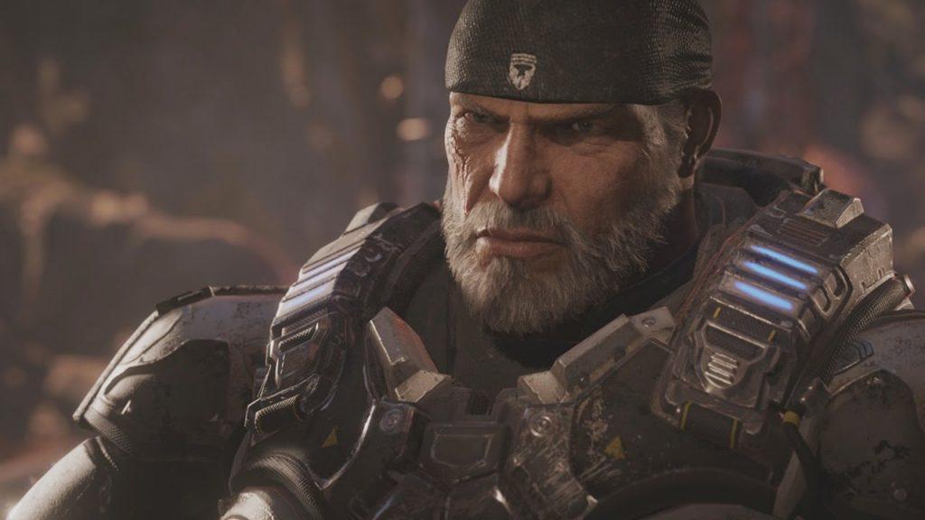 Marcus Fenix from Gears of War