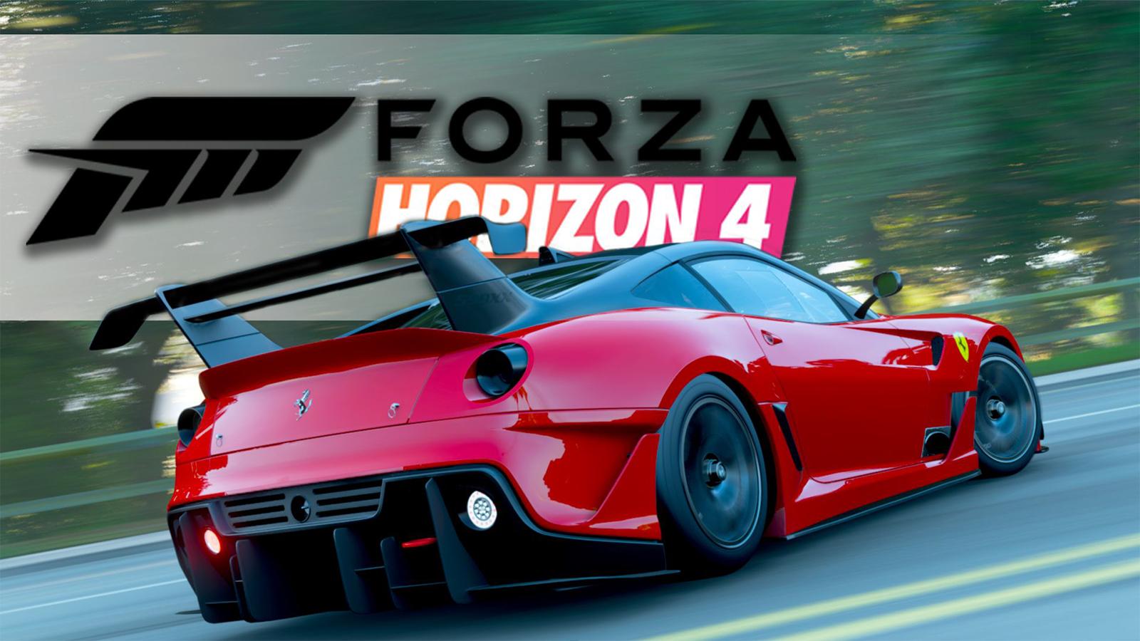 Forza Horizon 4 Stunt Jump Plane