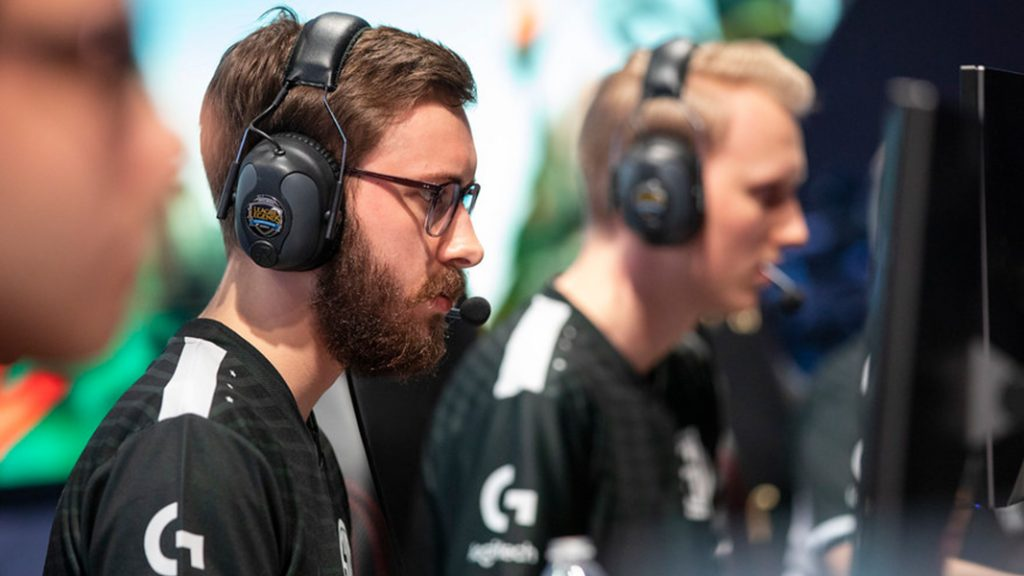 bjergsen on LCS stage
