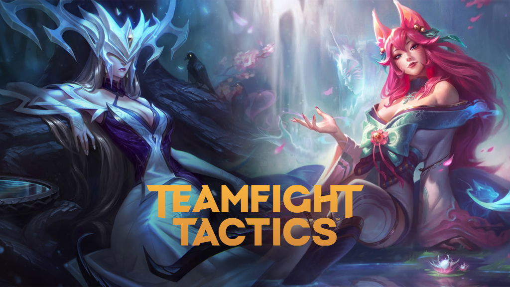 Lissandra and Ahri in TFT Fates