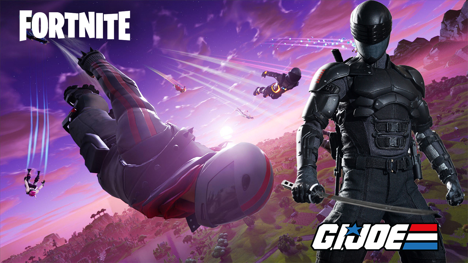 Fortnite G.I Joe Snake Eyes