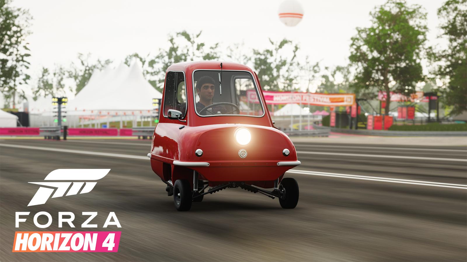 Forza Horizon 4 Peel P50 Speed Record