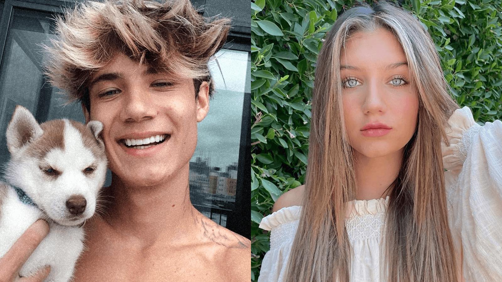 Jaden Hossler Mads Lewis breakup