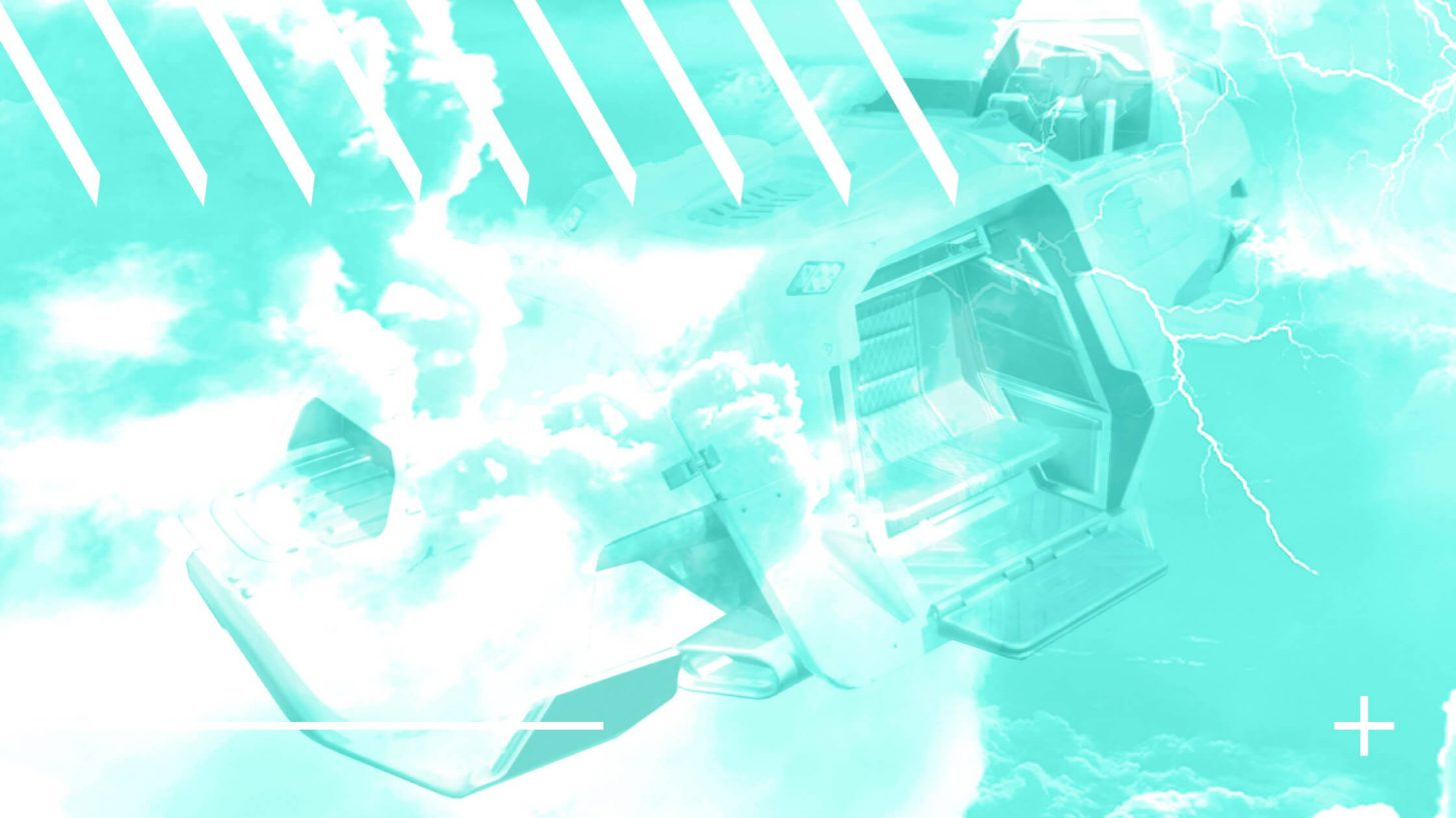Trident Vehicle in Apex Legends