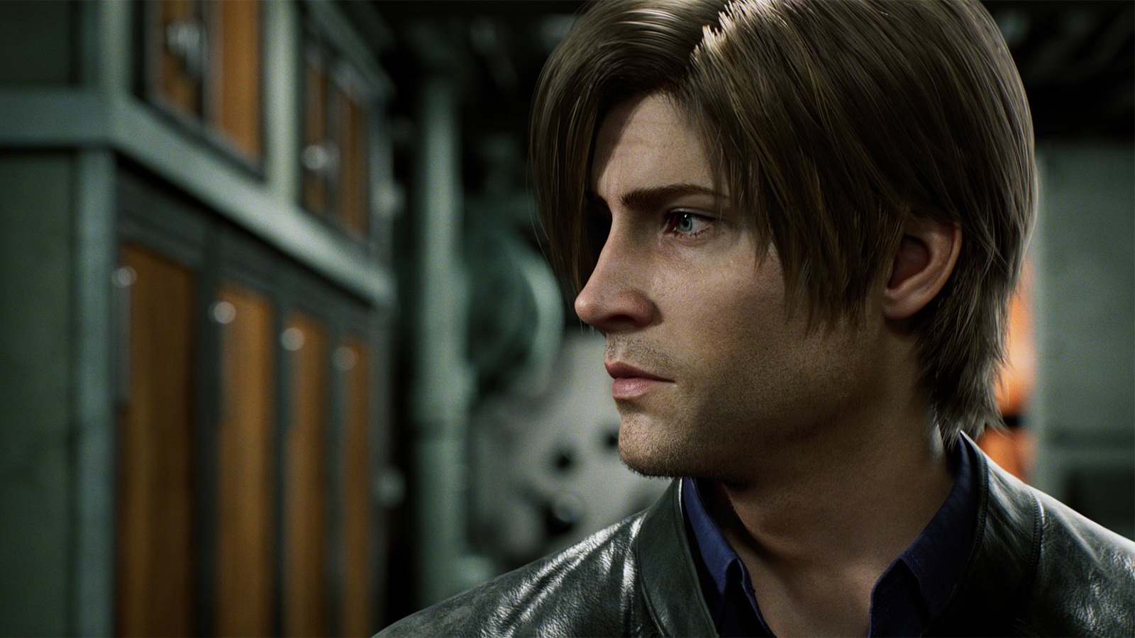 Leon Kennedy in Resident Evil Infinite Darkness on Netflix