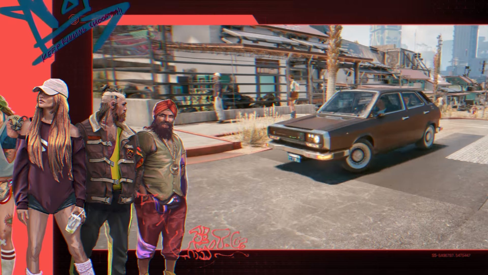 Cyberpunk 2077 Entropism