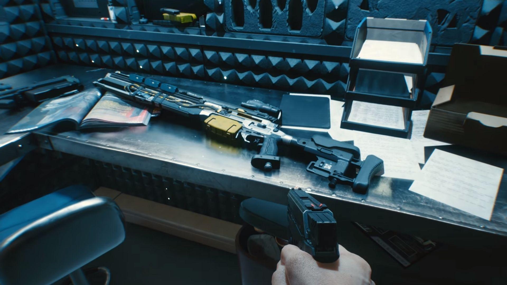 Guns in Cyberpunk 2077