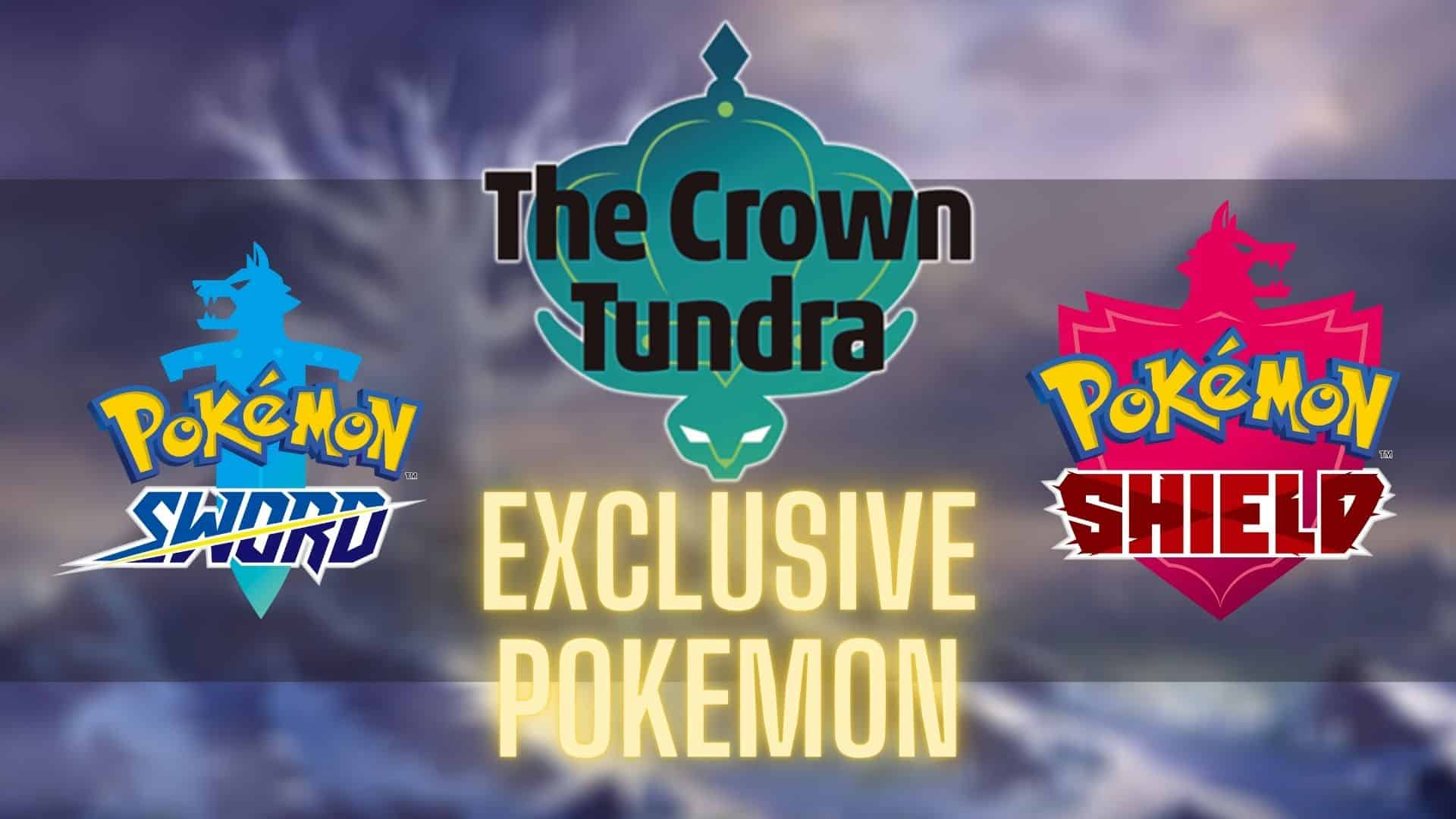 Crown Tundra Pokemon