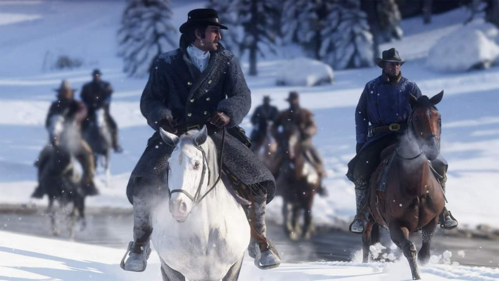 Snow in Red Dead Redemption