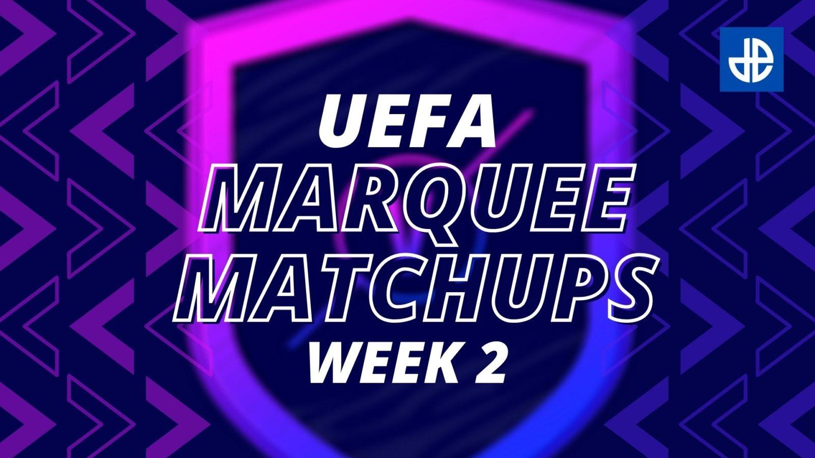 FIFA 21 FUT Marquee Matchups Week 2