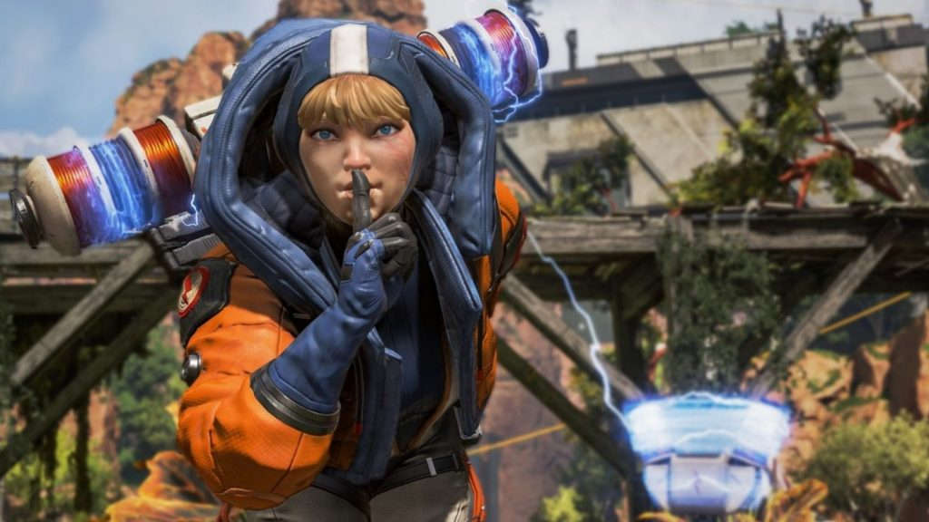 Wattson Apex Legends screenshot
