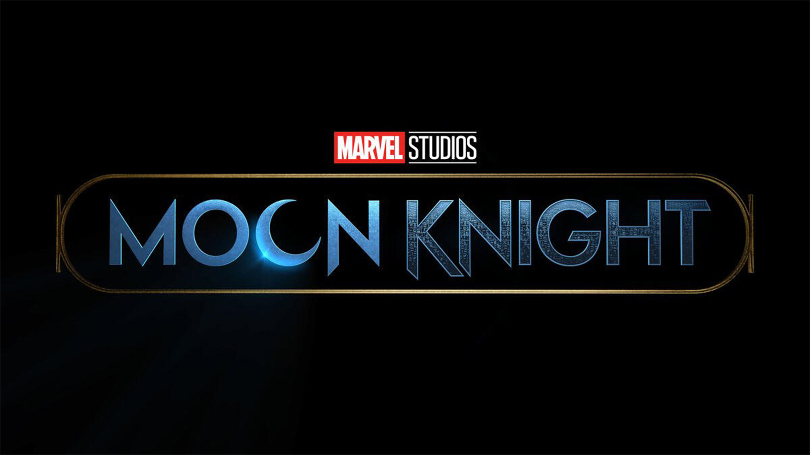 Logo for Disney Plus series Moon Knight