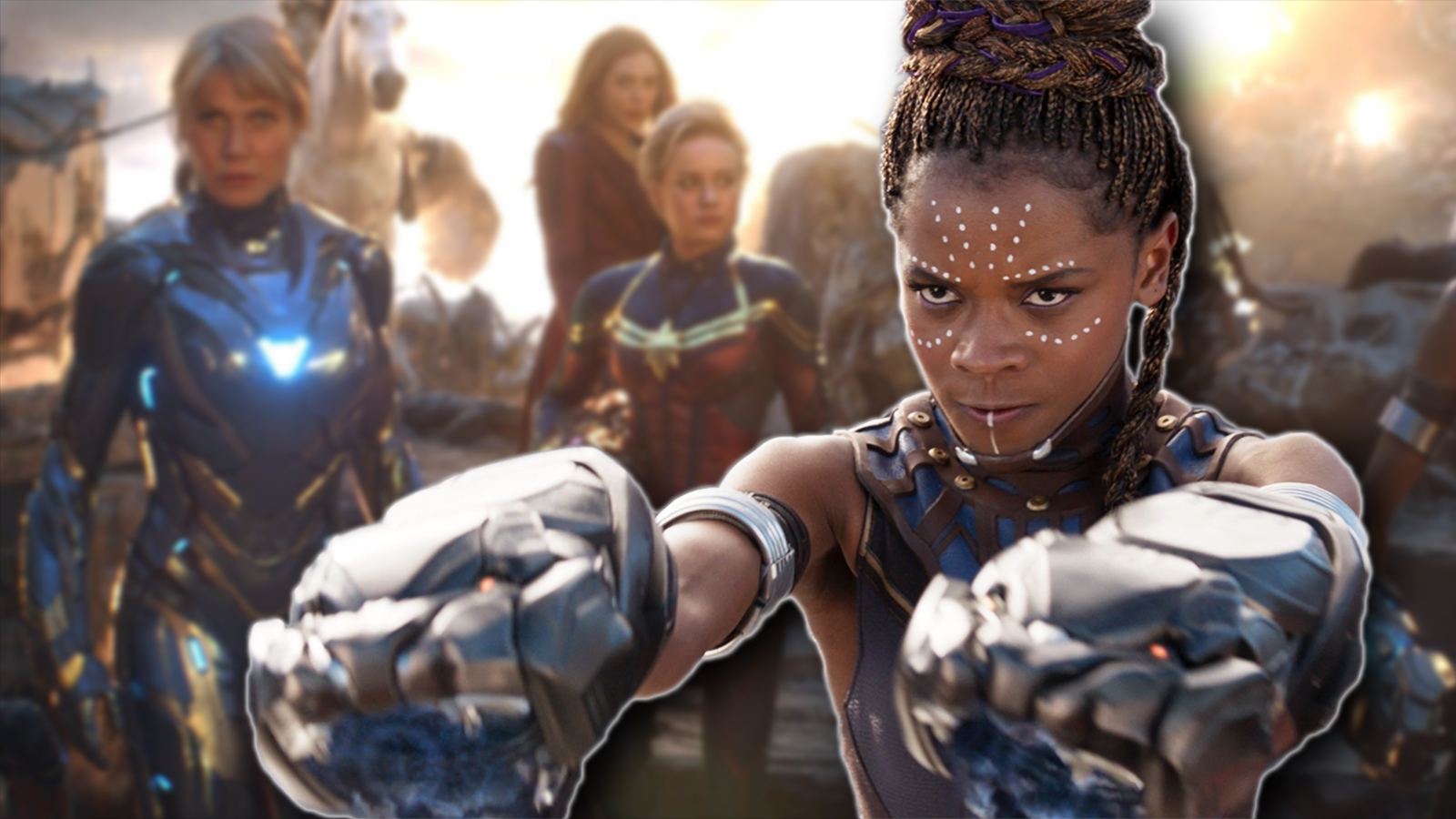 All Female Avengers Movie Letitia Wright