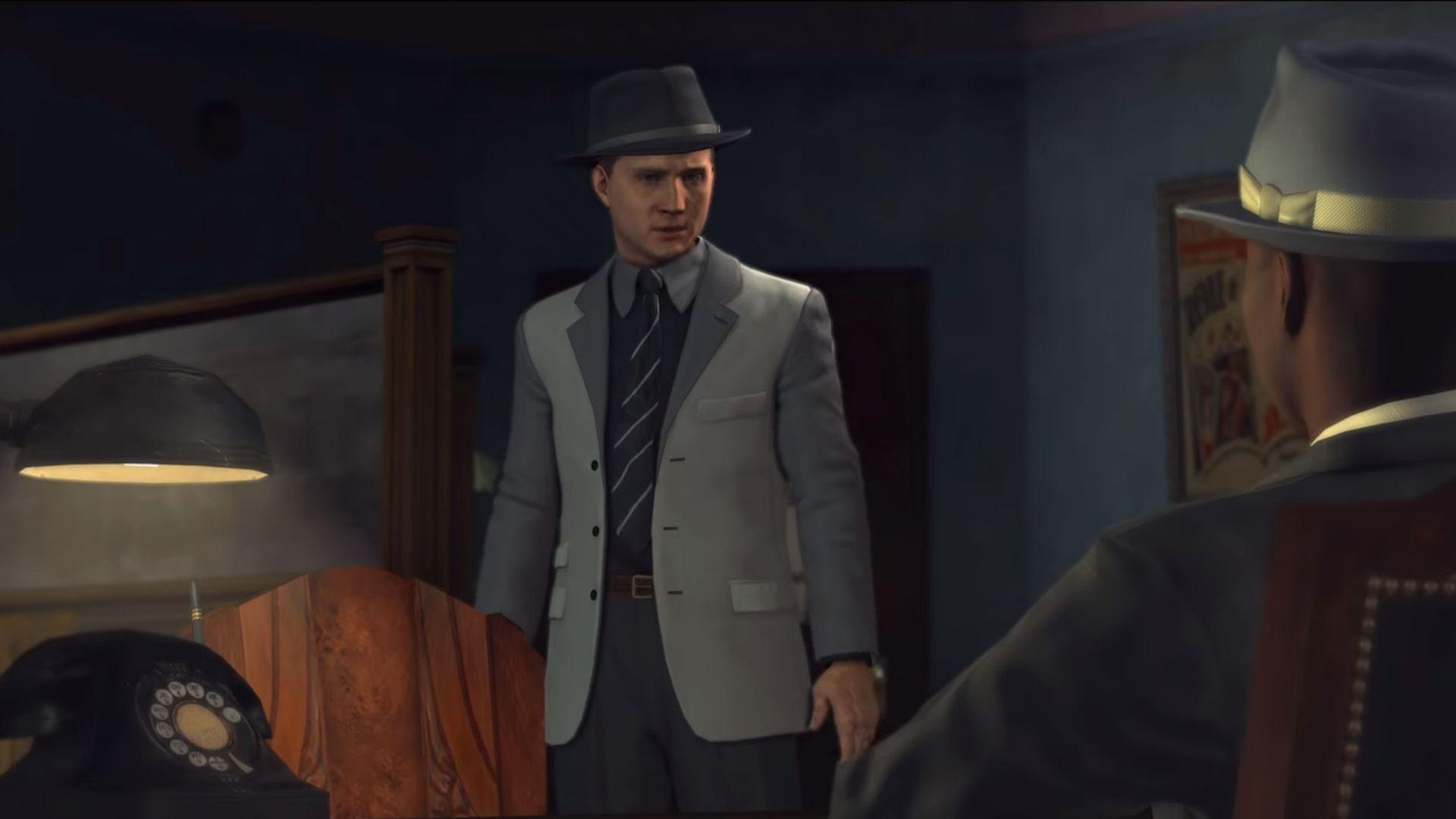 characters talking in LA Noire