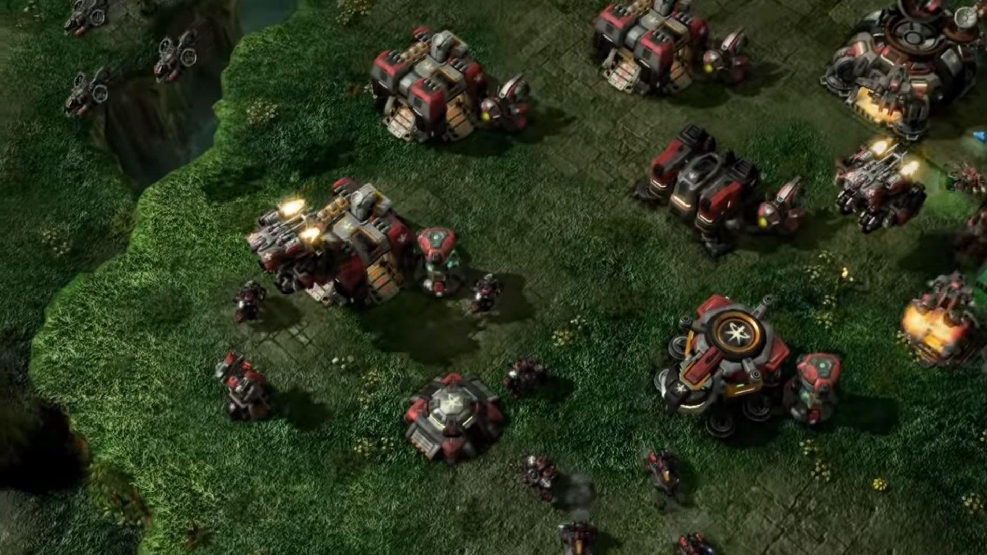 Moving fleet around in Starcraft II