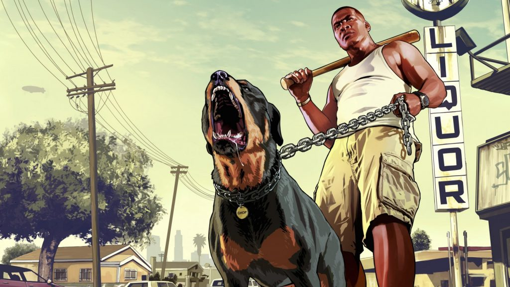 Franklin GTA 5 loading screen