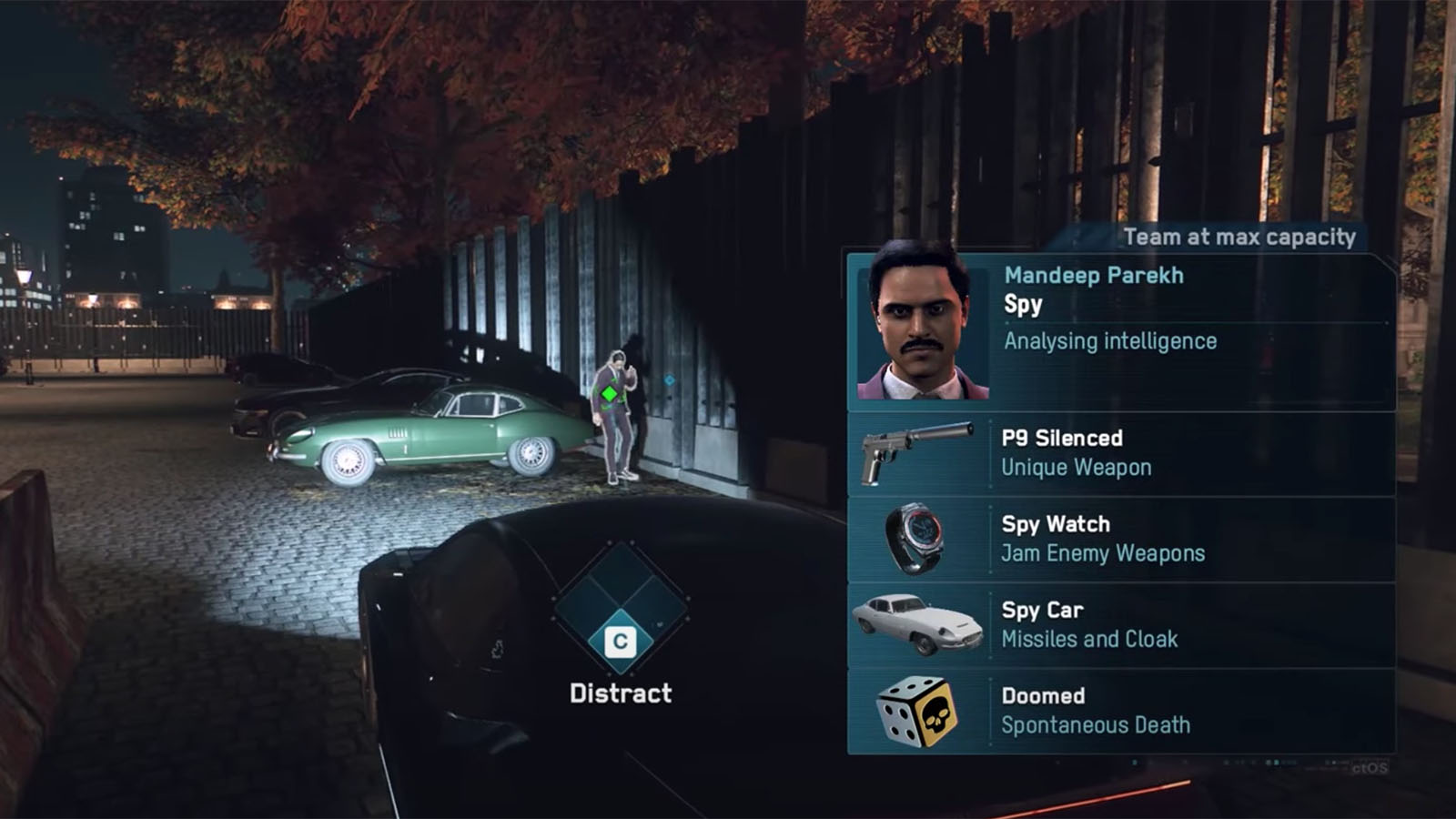 Watch Dogs Legion Spy Car