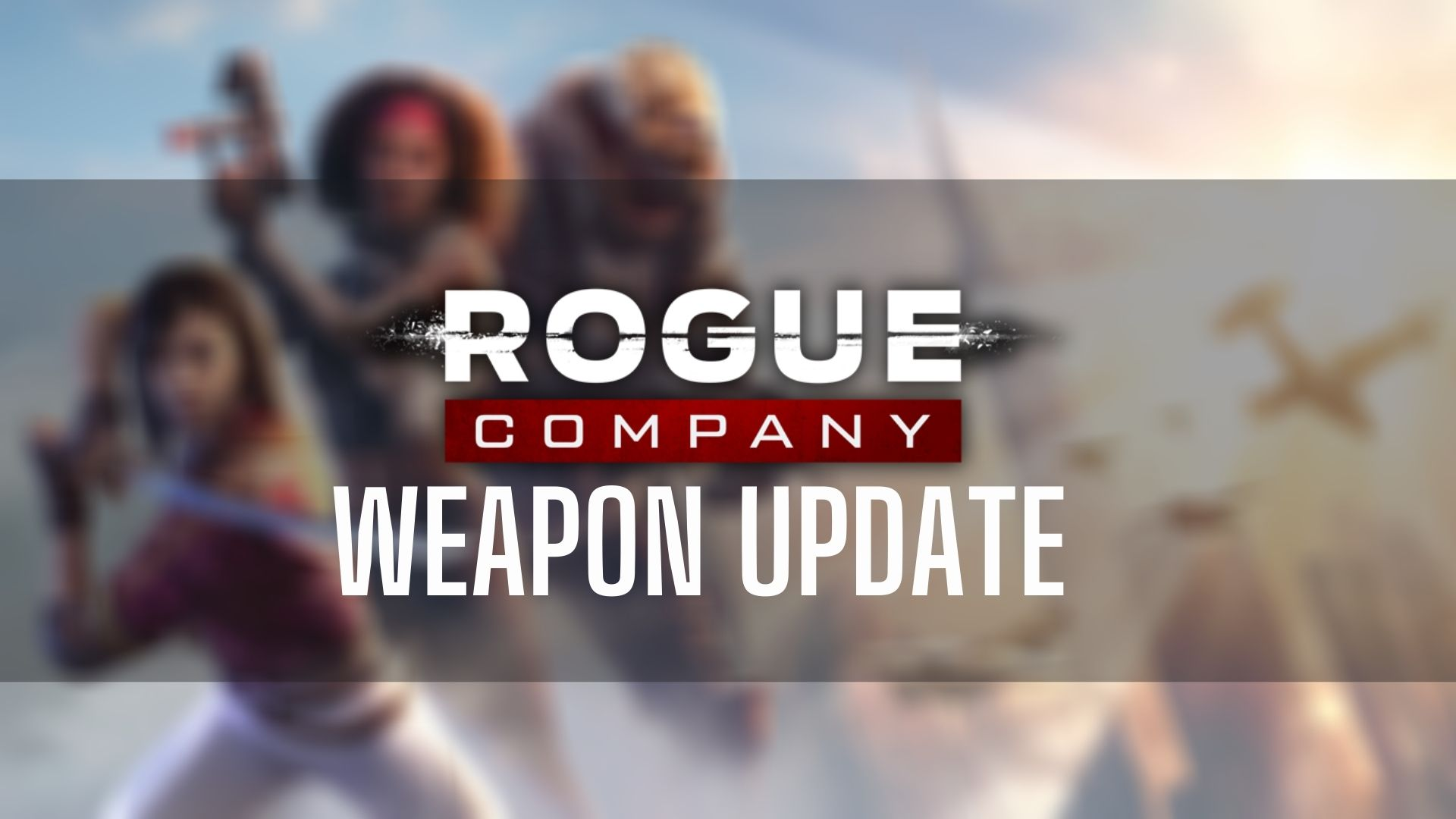 Rogue Company official artwork