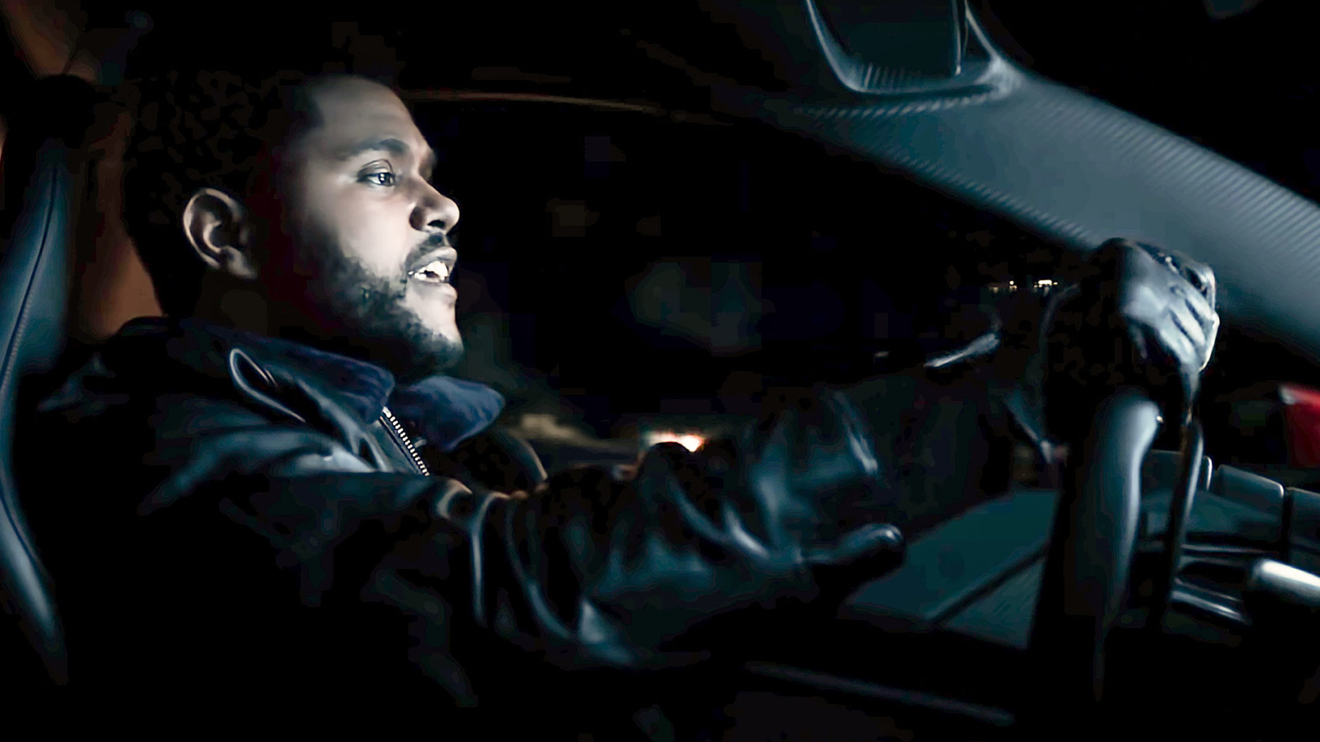 The Weeknd Driving