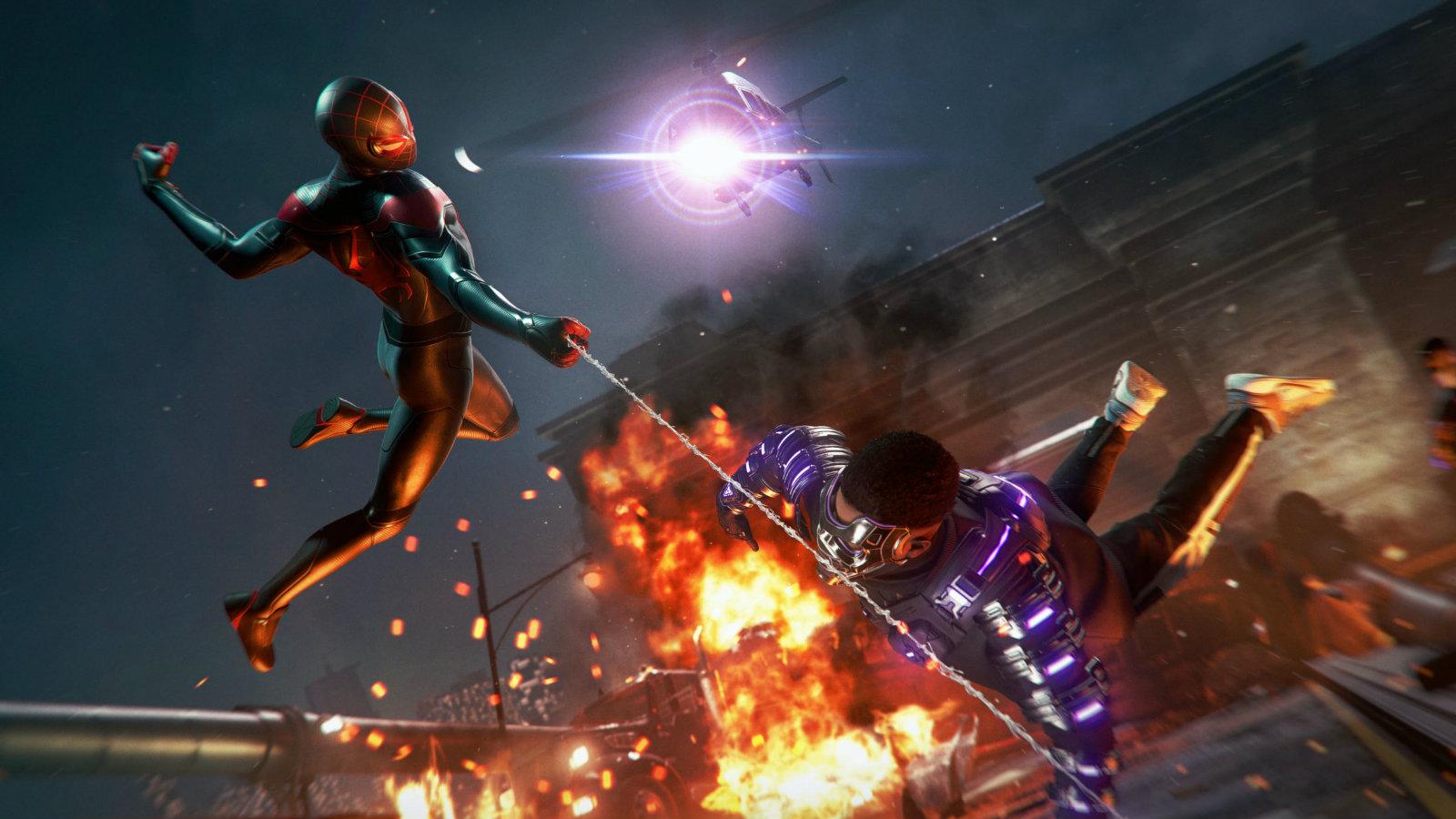 Spider-Man battles The Underground