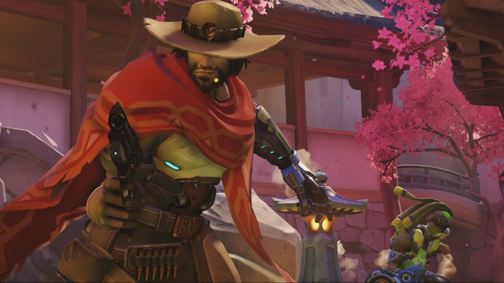 McCree on Hanamura