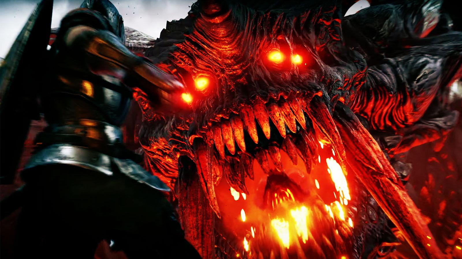 demons souls boss fight
