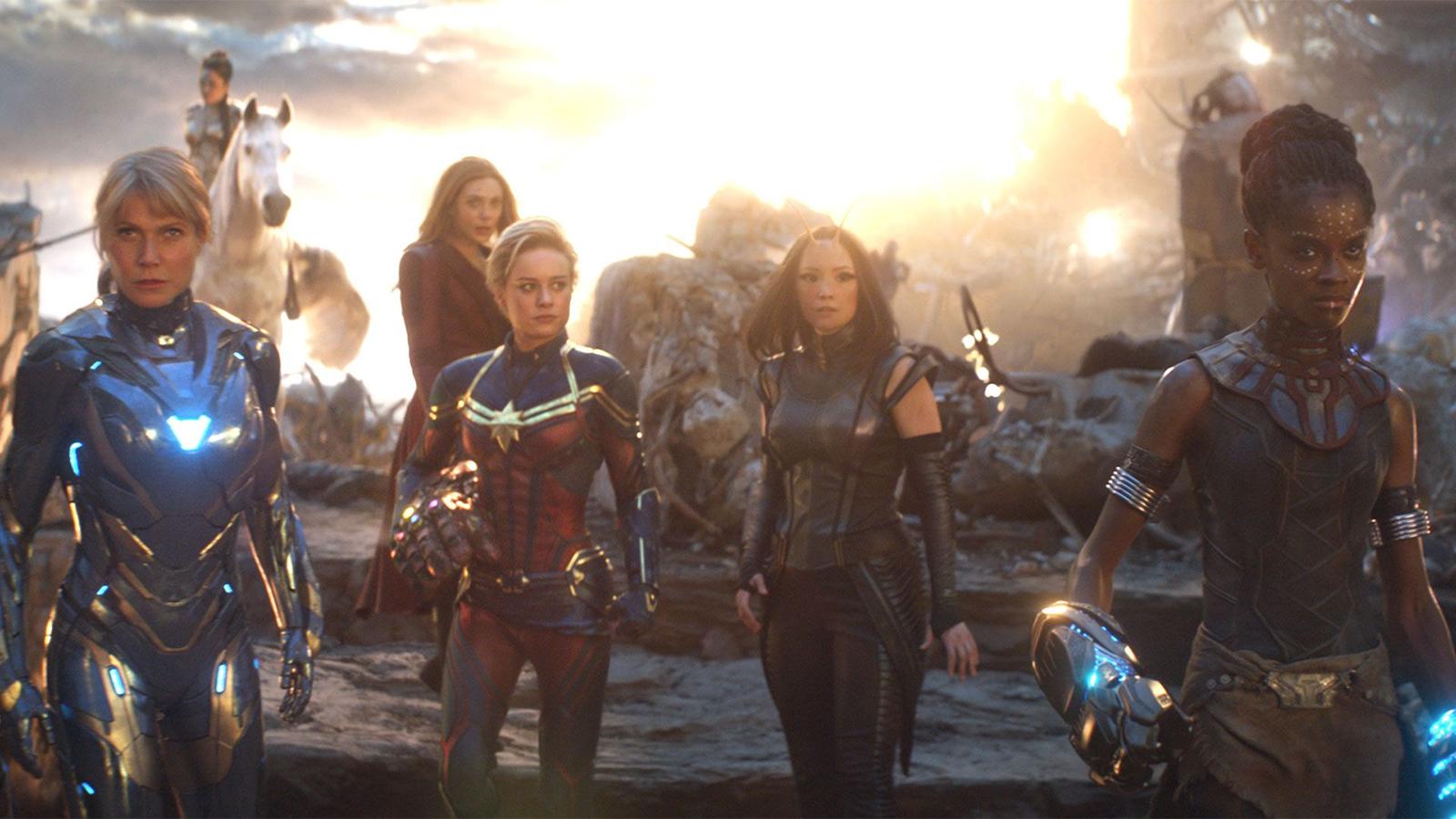 Avengers: Endgame female superheroes