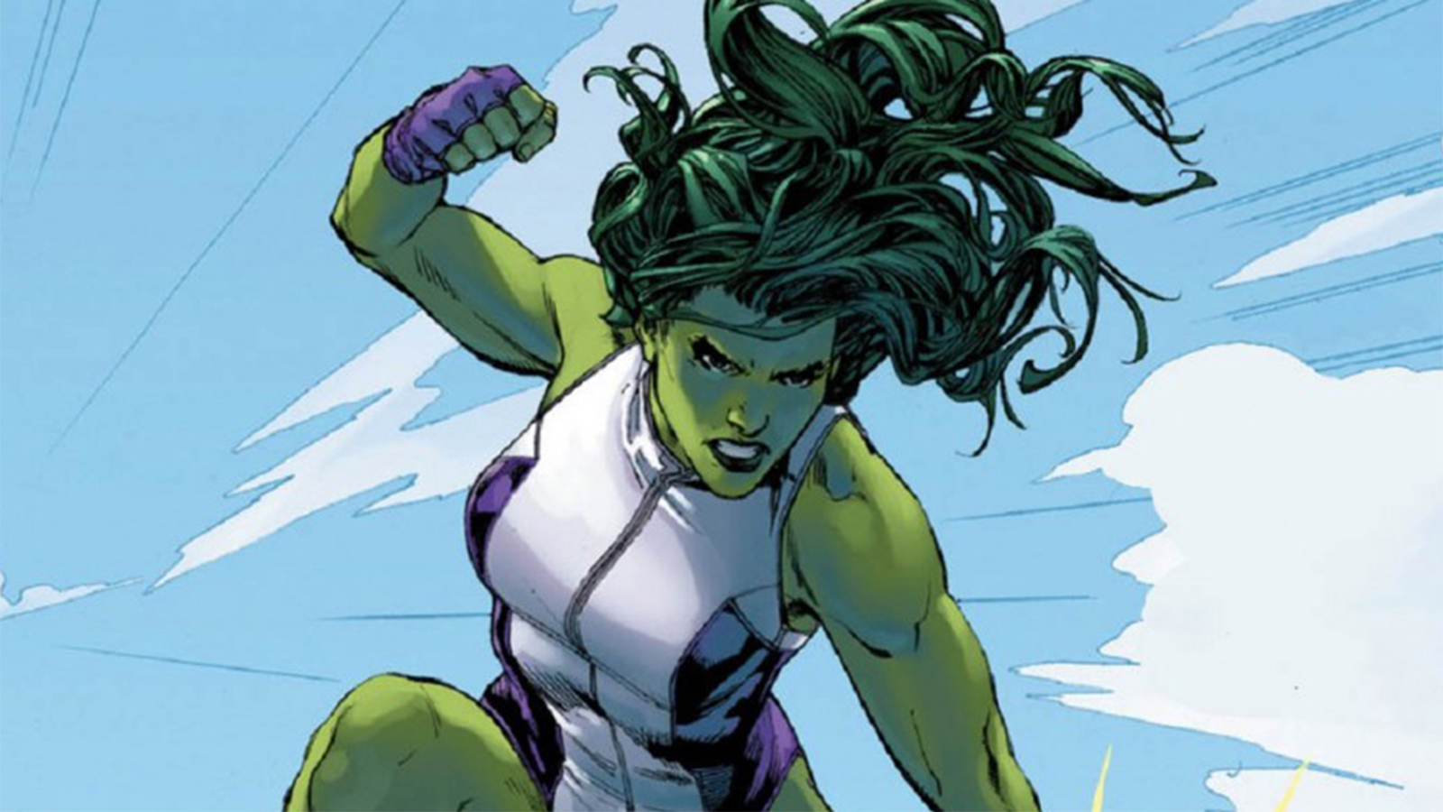 She-Hulk in the Marvel comics