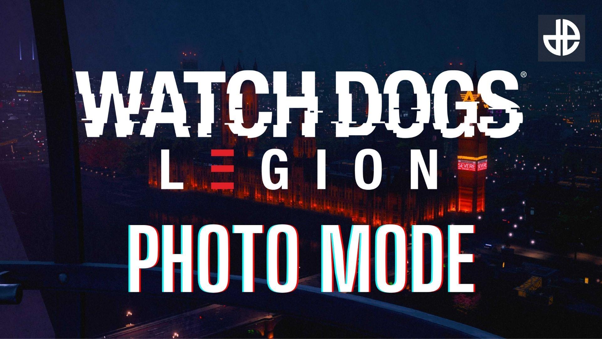 Watch Dogs Legion photo mode