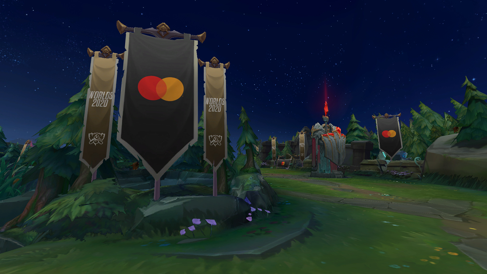 League of Legends Mastercard In-Game Banner